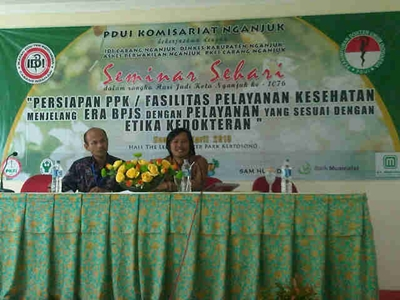 Ketua PKFI nganjuk in action
